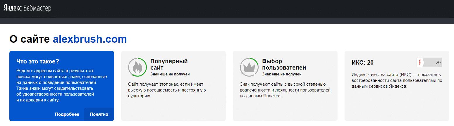 Что такое Яндекс ИКС - индекс качества сайта